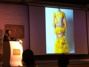 One of Bernard Chandran's creations for Malay royalty.