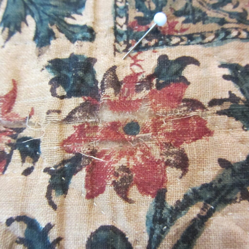 Damage: Kalamkari Repair