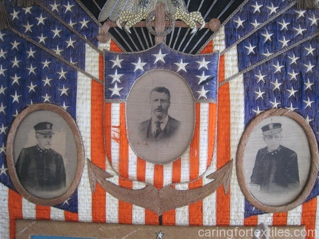 Great White Fleet Detail: President Roosevelt, Admirals Sperry and Evans